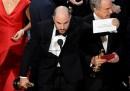 Il grosso guaio nell'annuncio dell'Oscar per il miglior film