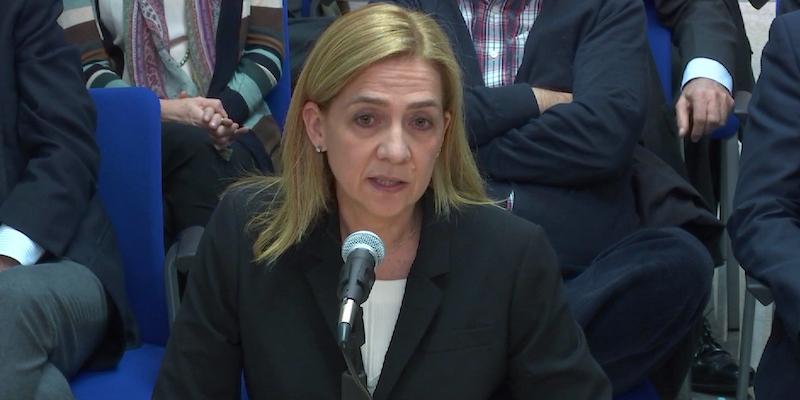 Spagna: assolta la sorella del re Felipe, condannato il cognato
