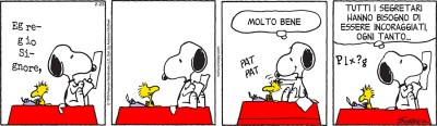 Peanuts 2017 febbraio 23