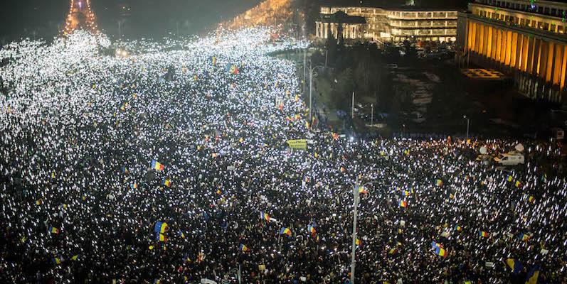 ROMANIA La sinistra e il più grande movimento dal 1989