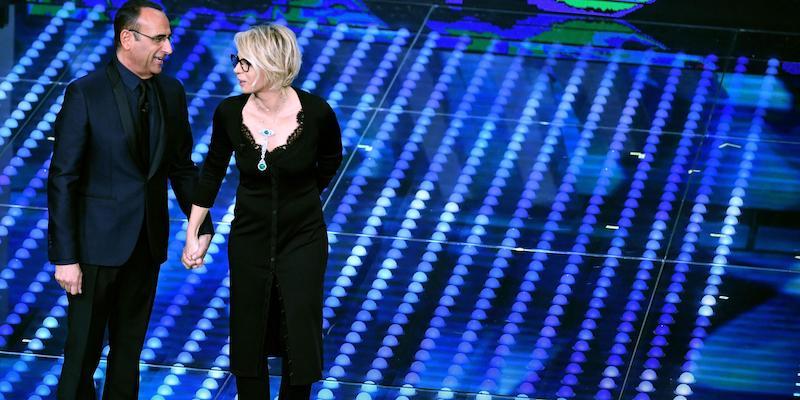 Greta Menchi abito look Festival di Sanremo 2017 che stilista ha scelto