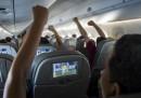 Gli schermi sui sedili degli aerei potrebbero sparire