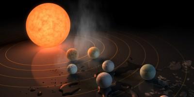 La scoperta dei 7 esopianeti