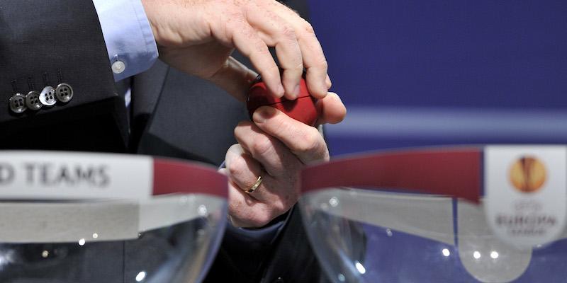 Sorteggio Europa League, la Roma pesca il Lione agli ottavi