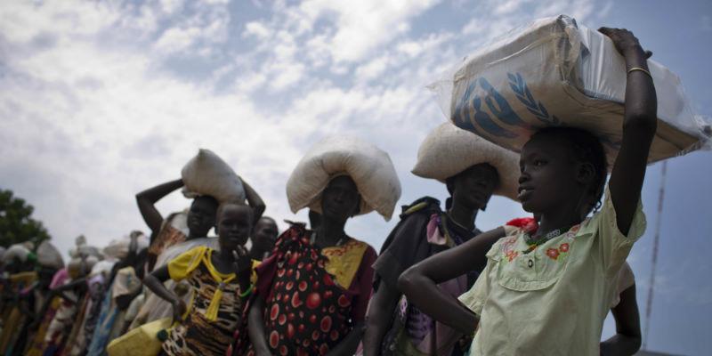 Sud Sudan, dichiarato lo stato di carestia in due regioni del Paese