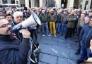 I tassisti protestano ancora contro il governo