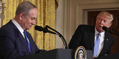 A Trump su Israele va bene tutto, basta che si mettano d'accordo