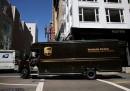 I furgoni di UPS non girano a sinistra
