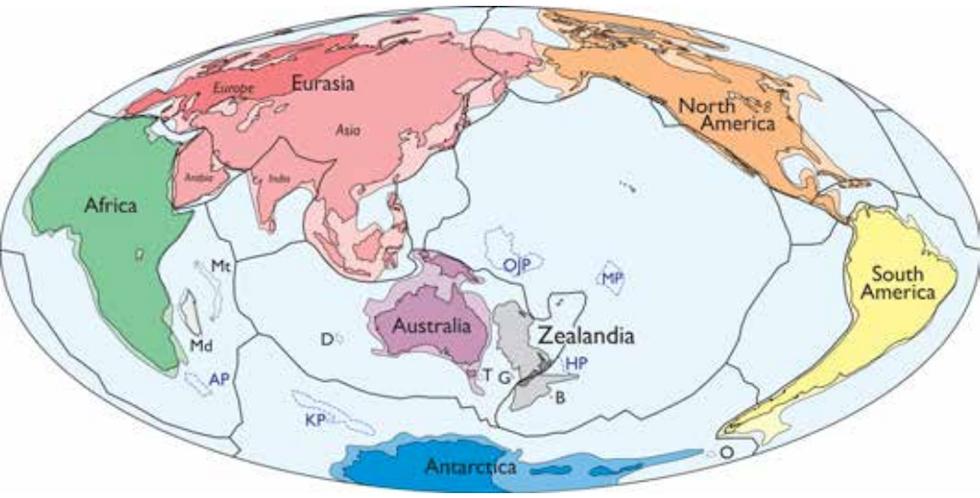 Scoperto il settimo continente