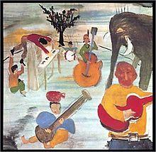 A che età avete cominciato a dipingere meglio di Dylan? (Qualcuno notò subito che i musicisti in copertina erano sei).