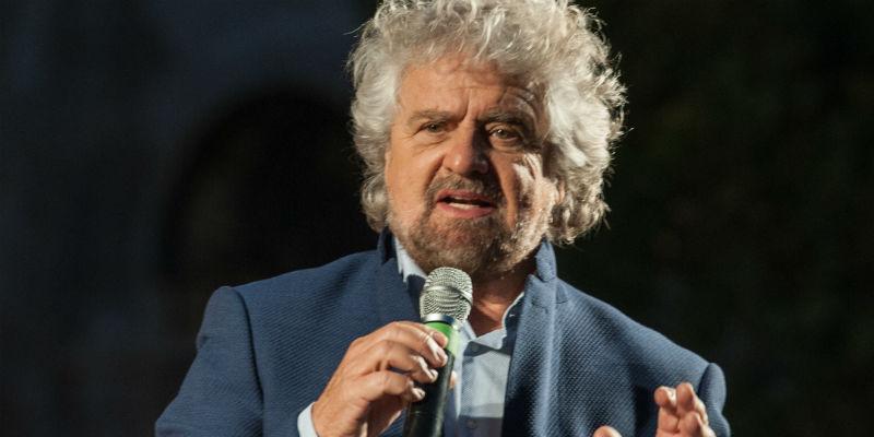 Beppe Grillo Genova