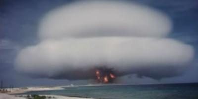 Cinque video di esplosioni nucleari