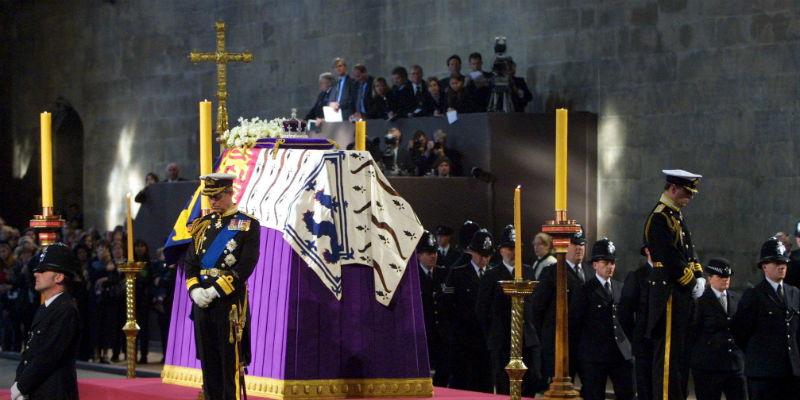 Funerale regina