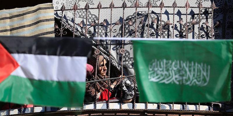 PALESTINIAN-CONFLICT-GAZA-HAMAS-ANNIVERSARY