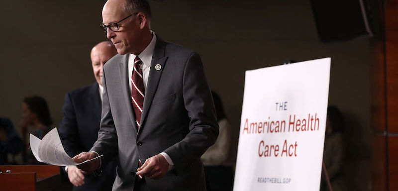 House Republicans Discuss American Health Care Act To Replace ACA
