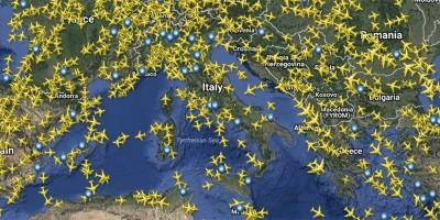 Le abitudini di volo degli italiani