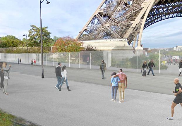 Protezione Tour Eiffel