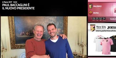 Paul Baccaglini è il nuovo presidente del Palermo