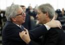 Jean-Claude Juncker Paolo Gentiloni
