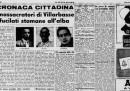 L'ultima esecuzione per crimini comuni in Italia