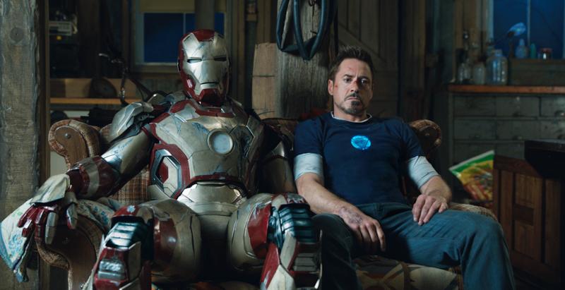 Tony Stark with Costume