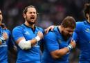 L'Italia di rugby ha perso contro la Francia