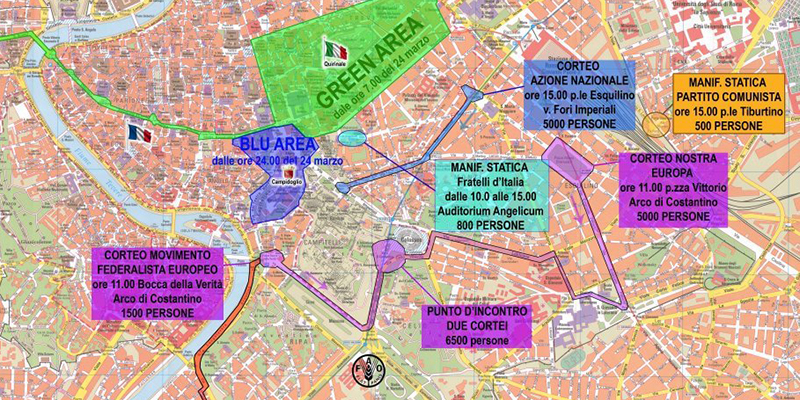 Smog Roma, 26 marzo quarta domenica ecologica: stop auto e moto