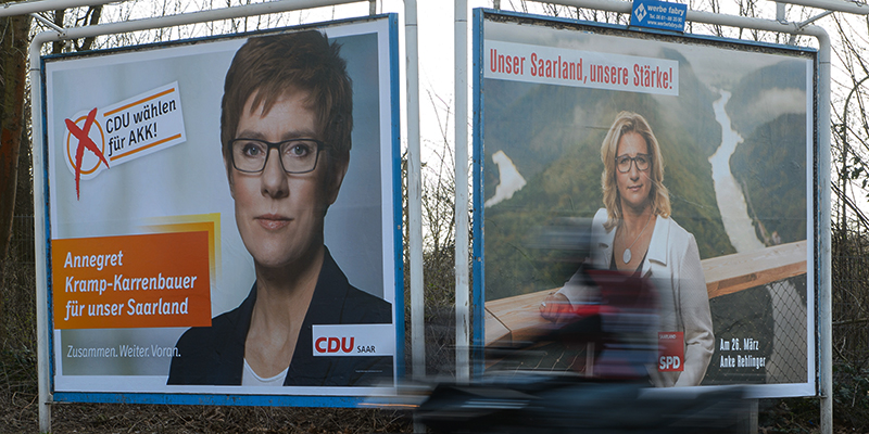 Germania, exit poll in Saarland premiano Cdu: in testa col 41%