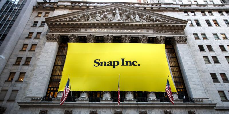 b53a885f2e A Wall Street la società che controlla Snapchat ha guadagnato il 44 per  cento, ma ci sono molti dubbi su come potrà cavarsela passata l'euforia