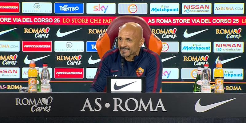 Roma, resta l'allarme Spalletti: