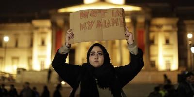 Le foto della veglia per l'attentato di Londra
