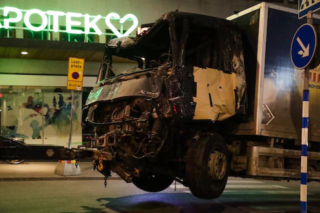 Sweden Truck Crash