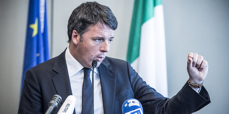 Renzi finished his campaigne in Brussels