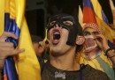Le proteste per le elezioni in Ecuador