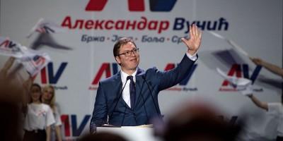 Aleksandar Vučić ha vinto le presidenziali in Serbia