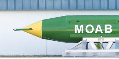 """Cos'è la MOAB, la """"madre di tutte le bombe"""""""