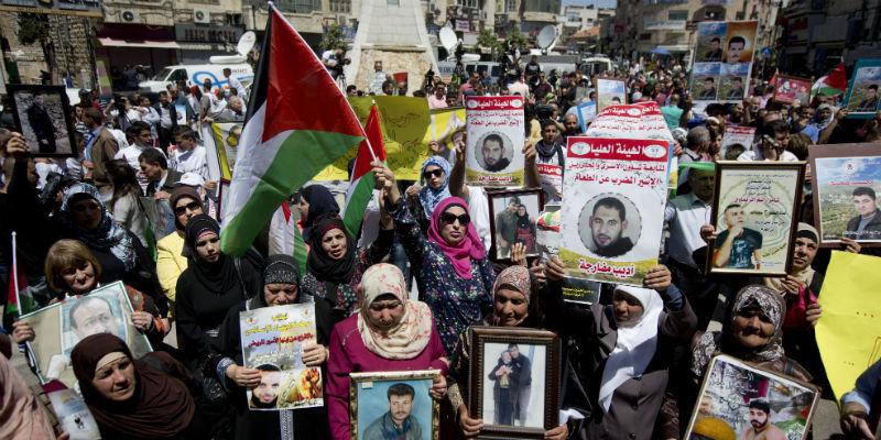 Uno sciopero della fame dei detenuti palestinesi per protestare contro Israele