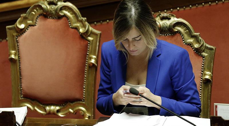 Riforme: Boschi, ora Nuovo Senato, poi presidenzialismo