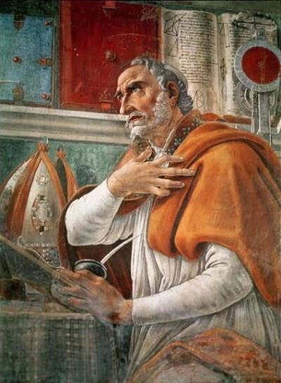 Il Sant'Agostino di Botticelli.