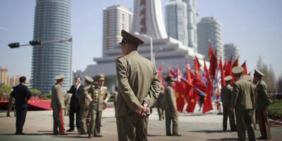 Una cerimonia come un'altra in Corea del Nord