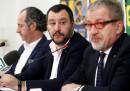 A Roberto Maroni non piace che Giulia Bongiorno sia candidata con la Lega