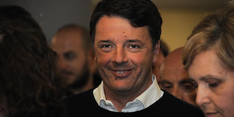 Firenze, Renzi vota al congresso del suo circolo