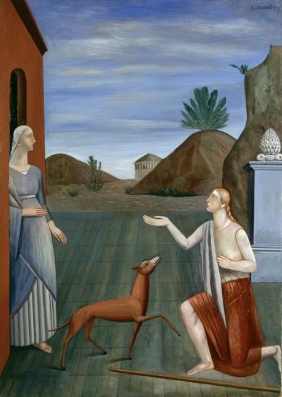 Carlo Carrà, Le figlie di Loth, 1919.