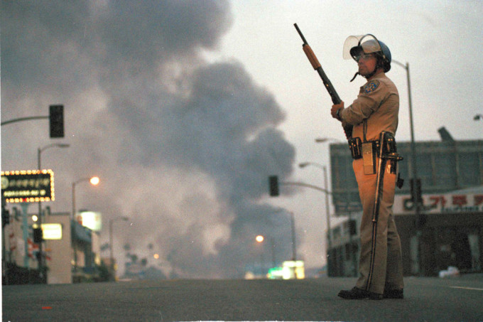 Watchf Associated Press Domestic News California United States APHS LOS ANGELES RIOTS 1992