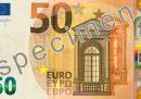 Come sono fatti i nuovi 50 euro, in circolazione da oggi