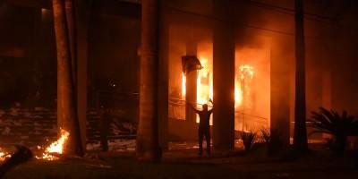 Il parlamento del Paraguay è stato incendiato