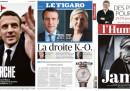 Le prime pagine in Francia sulle elezioni