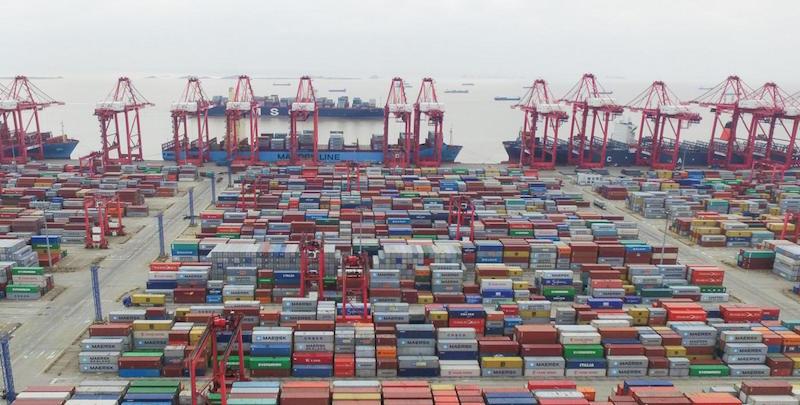 Cina, il porto in acque profonde di Yangshan