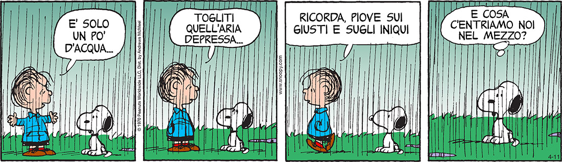 Peanuts 2017 aprile 11 - Il Post