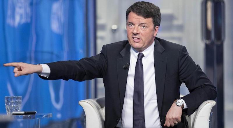 """Matteo Renzi ospite a """"Porta a Porta"""""""